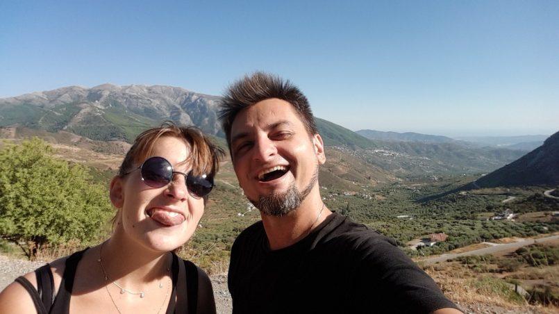 Martin i Dominika w Zafarraya