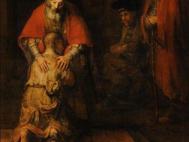 Powrót syna marnotrawnego - Rembrandt