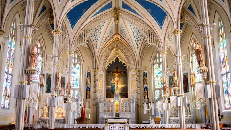 Kościół w środku