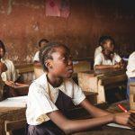 Dzieci w szkole w Afryce