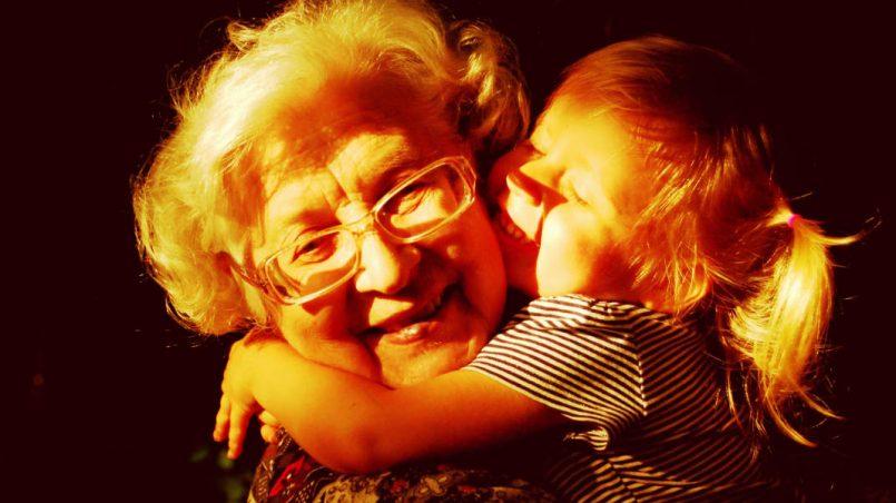 Babcia i dziecko